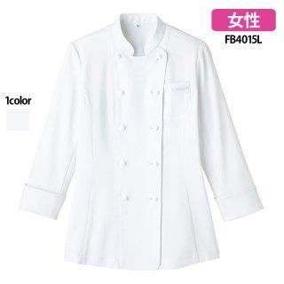 《レディース》吸汗速乾コックシャツ(FACE MIX)|スクラブ・白衣(ナース服・看護服)などのメディカルウェア・ユニフォーム・ワーキングウェアの通販【スターク】