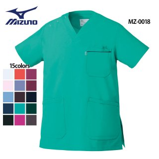《男女兼用》SEK制菌 エチケット機能 スクラブ(MIZUNO/ミズノ)MZ-0018|スクラブ・白衣(ナース服・看護服)などのメディカルウェア・ユニフォーム・ワーキングウェアの通販【スターク】
