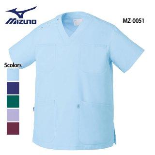 《男女兼用》クールマックス スクラブ(MIZUNO/ミズノ)MZ-0051|スクラブ・白衣(ナース服・看護服)などのメディカルウェア・ユニフォーム・ワーキングウェアの通販【スターク】
