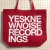 Knew Noise Recordings Tote Bag (Color : Burgundy)<img class='new_mark_img2' src='//img.shop-pro.jp/img/new/icons57.gif' style='border:none;display:inline;margin:0px;padding:0px;width:auto;' />