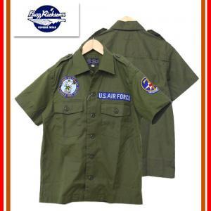 BUZZ RICKSON'S バズリクソンズ  BR37639  ベトナム 半袖 シャツ スヌーピー コラボ PEANUTS