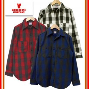 3104 FLANNEL SHIRT A柄