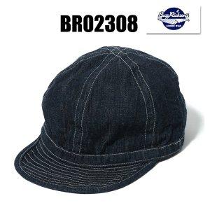 再入荷 BR02308 「ARMY DENIME CAP SOLID」