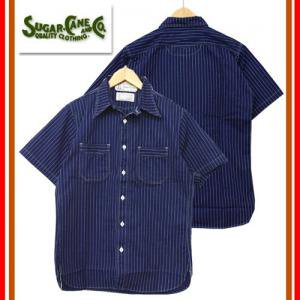 SC36267A FICTION ROMANCE 8.5oz WABASH STRIPE WORK SHIRT