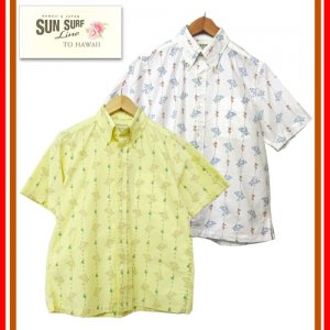 SS36996 「HULA STRIPES」 ボタンダウンシャツ