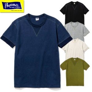 PCT1-S Vガゼット付き半袖Tシャツ
