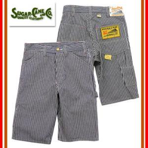 SC51664 11oz HICKORY STRIPE WORK SHORT PANTS