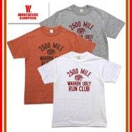 WAREHOUSE/ウエアハウス 4601 「RUN CLUB」 プリントTシャツ 半袖 TEE ヴィンテージ