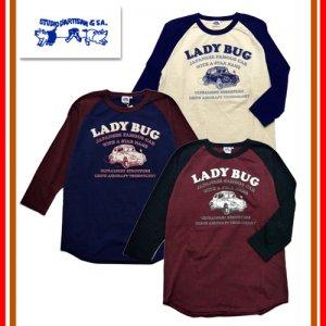 9872A 「LADY BUG」 ラグラン七分ロンT