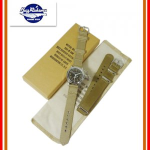 BUZZ RICKSON'S/バズリクソンズ BR02529 「WATCH WRIST BUSHIP U.S.N.」 リストウォッチ ミリタリー 時計 クォーツ 腕時計 防水