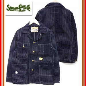 SC14001 「9oz WABASH STARIPE WORK JACKET」