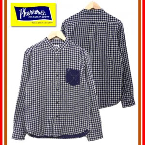 17W-PNCS1 バンドカラーシャツ