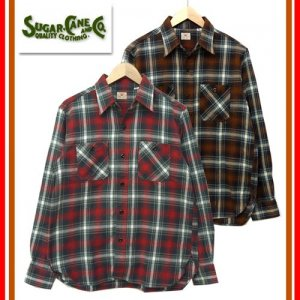 SC27704 「TWILL CHECK WORK SHIRT」