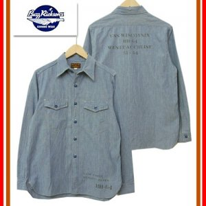 BR26081 「BLUE CHAMBRAY WORK SHIRTS」