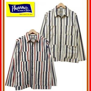 【予約2月下旬〜3月入荷予定】 18S-PCOS1 カバーオールシャツ