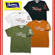 18S-PT4 「RAYMONDS」プリントTシャツ ※新色サンドグリーン追加
