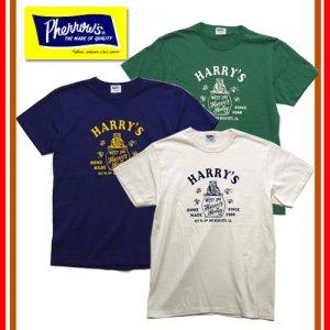 18S-PTJ3 「HARRY'S」 プリントTシャツ
