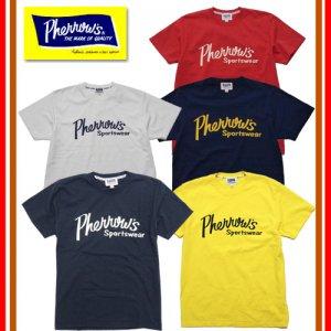 【新色追加】18S-PT1 Pherrow'sロゴ プリントTシャツ