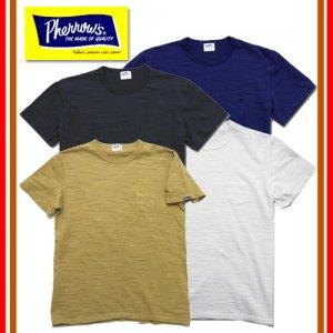 18S-PSPT1 スラブコットンポケット付きTシャツ