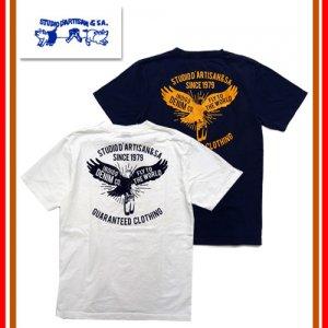 9908A USAコットン プリントTシャツ