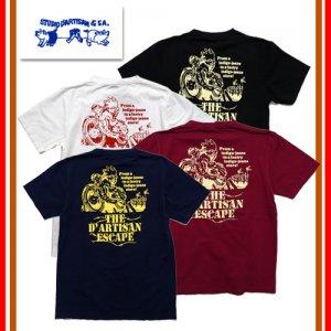 9905B USAコットン プリントTシャツ