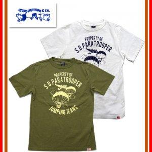 9906B USAコットン プリントTシャツ