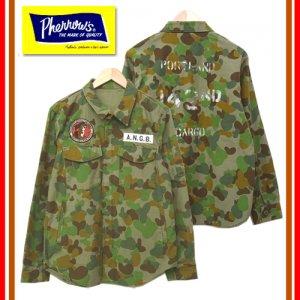 18S-PEGJ1-AC オーストラリアカモ 「A.N.G.B」 シャツジャケット