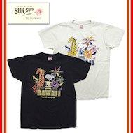 SS77970「ALOHA」スヌーピー 半袖 Tシャツ