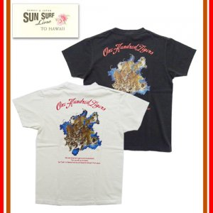 SS7798 ONE HUNDRED TIGERS 百虎 Tシャツ