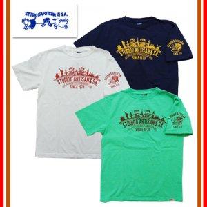 9928A USAコットン プリントTシャツ