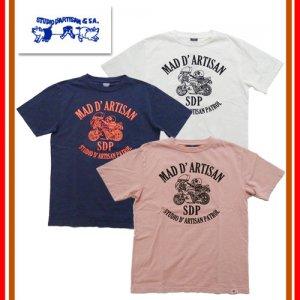 9926B「MAD D'ARTISAN」 USAコットン プリントTシャツ