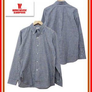 Lot3020 「L/S B.D SHIRTS」 ギンガムチェックボタンダウンシャツ