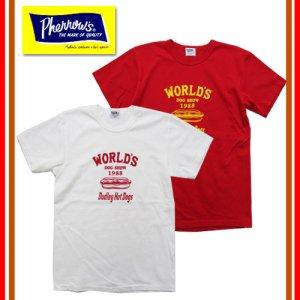 カタログ未掲載モデル 18S-PTJ13 「Dudley Hot Dogs」 プリントTシャツ