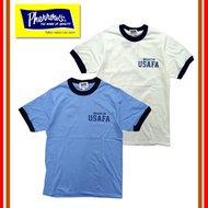 カタログ未掲載モデル 18S-PRT2 「USAFA(米空軍士官学校)」 リンガーTシャツ