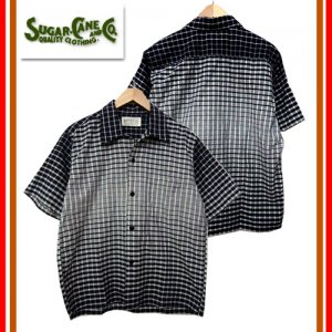 SC37936 3oz GRADATION CHECK S/S SPORT SHIRT