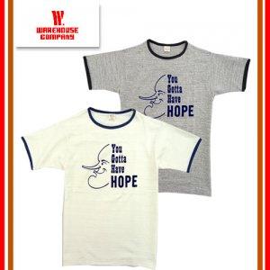 4059 「HOPE」 リンガーTシャツ