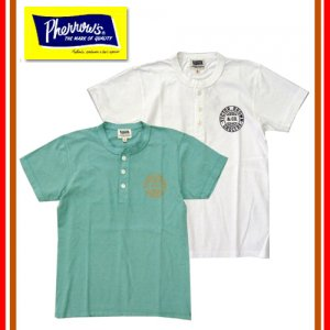 18S-PHNT1-P1 ヘンリーネックTシャツ