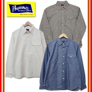 18W-PHBD1 ボタンダウンシャンブレーシャツ