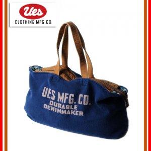 UES/ウエス 811701 ババクロスバッグ ショルダーバッグ トートバッグ ボストンバッグ 鞄 ロゴ プリント
