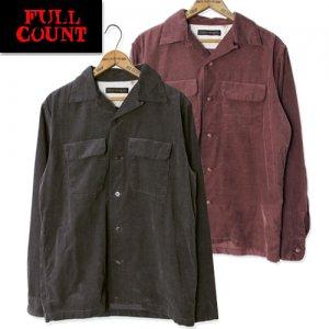 4015 コーデュロイ オープンカラーシャツ