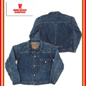 2ND-HAND lot2001 T BACK STYLE 1st MODEL DENIM JACKET