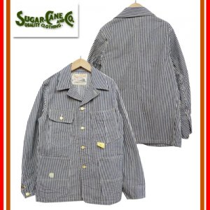 SC13824 「11oz HIKCORY STRIPE WORK COAT」