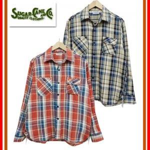 SC27996「ツイル チェック ワークシャツ」