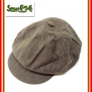 SC02569 FICTION ROMANCE 「11oz COVERT STRIPE 12PANELS CASQUETTE」