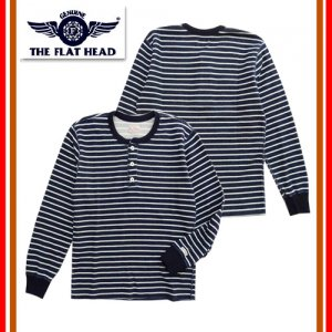 F-THL-004 INDIGO BORDER THERMAL - HENRY NECK