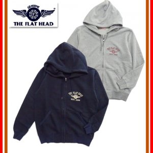 F-CZP-102LTD 数量限定 FULL ZIP SWT PARKA -FH FLYING WHEEL