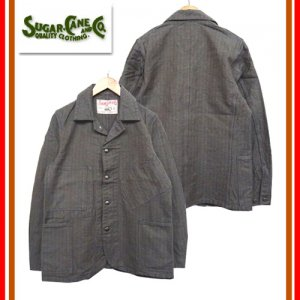 SC14313 11oz COVERT STRIPE WORK COAT