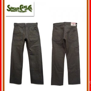 SC41786 11oz COVERT STRIPE 8 POCKETS PANTS