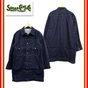 SC14301 12oz DENIM LONG JACKET