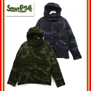 SC14291 CORDURA NYLON×COTTON DOWNJACKET CAMOUFLAGE